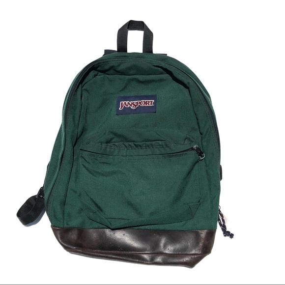 pretty nice hot-selling enjoy bottom price Vintage forest green Jansport backpack